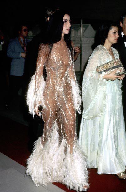 Image via Love the 70s (pinterest)-Cher, 1974, Bob Mackie