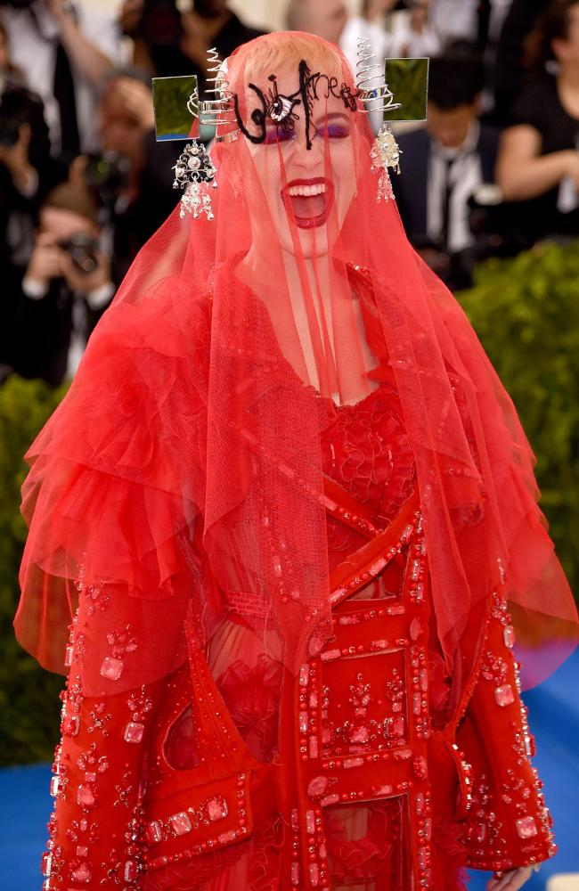 Katy Perry via AFP.