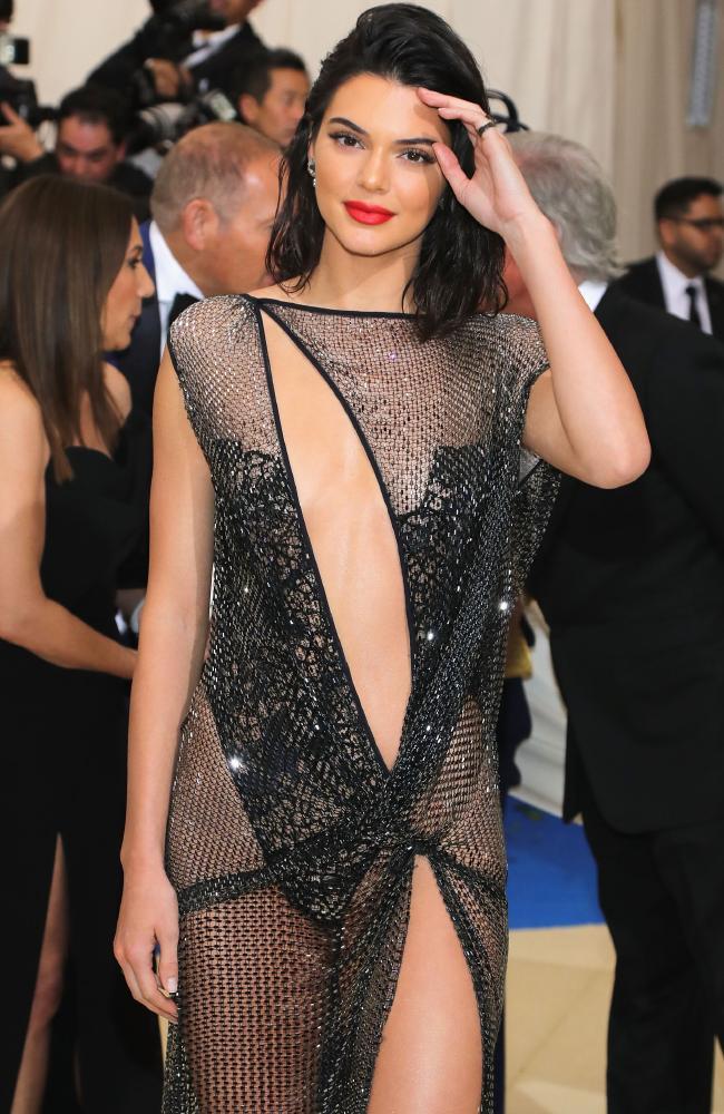 Kendall Jenner via AFP.
