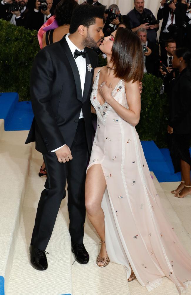 The Weeknd + Selena Gomez.
