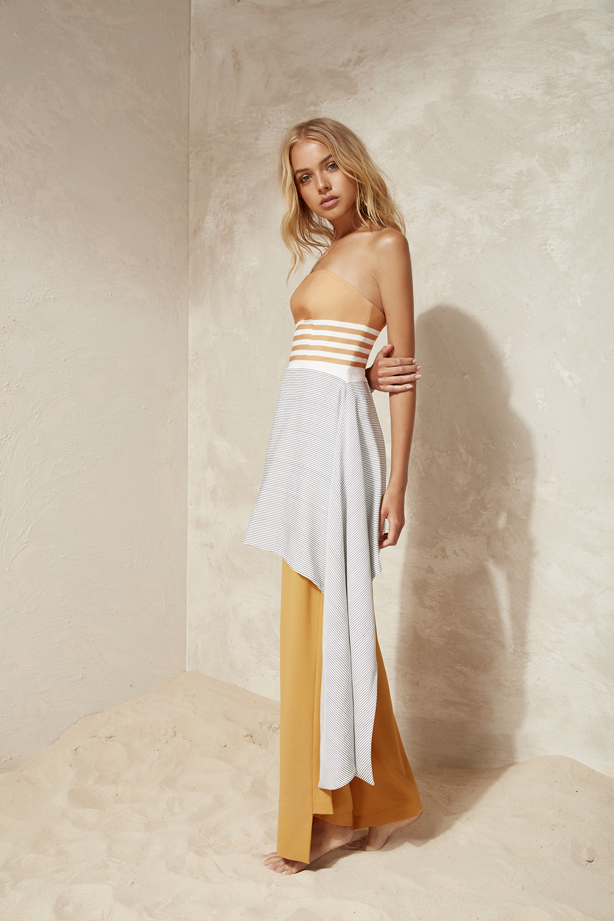 Shop  C/MEO Element Bustier Dress  +  Element Pant .