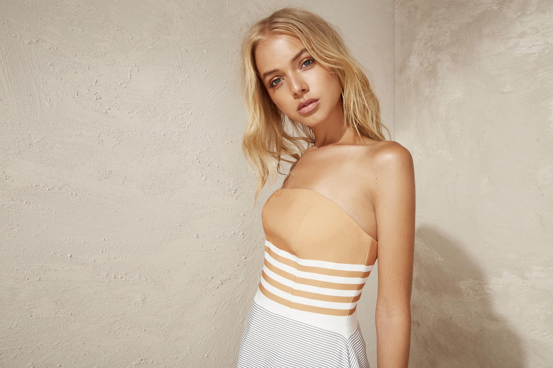 Shop C/MEO Element Bustier Dress.