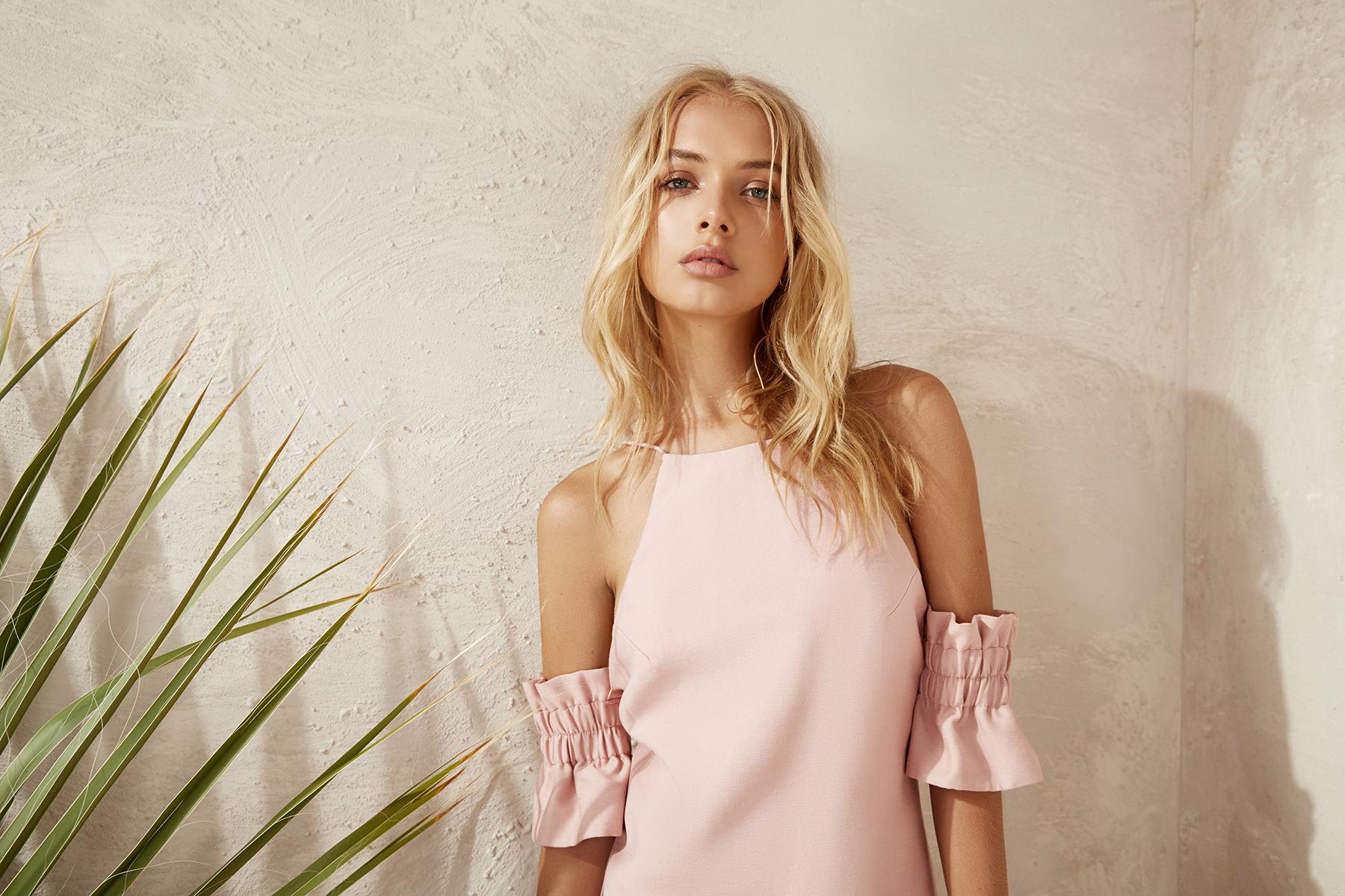 Shop C/MEO Double Take Mini Dress.