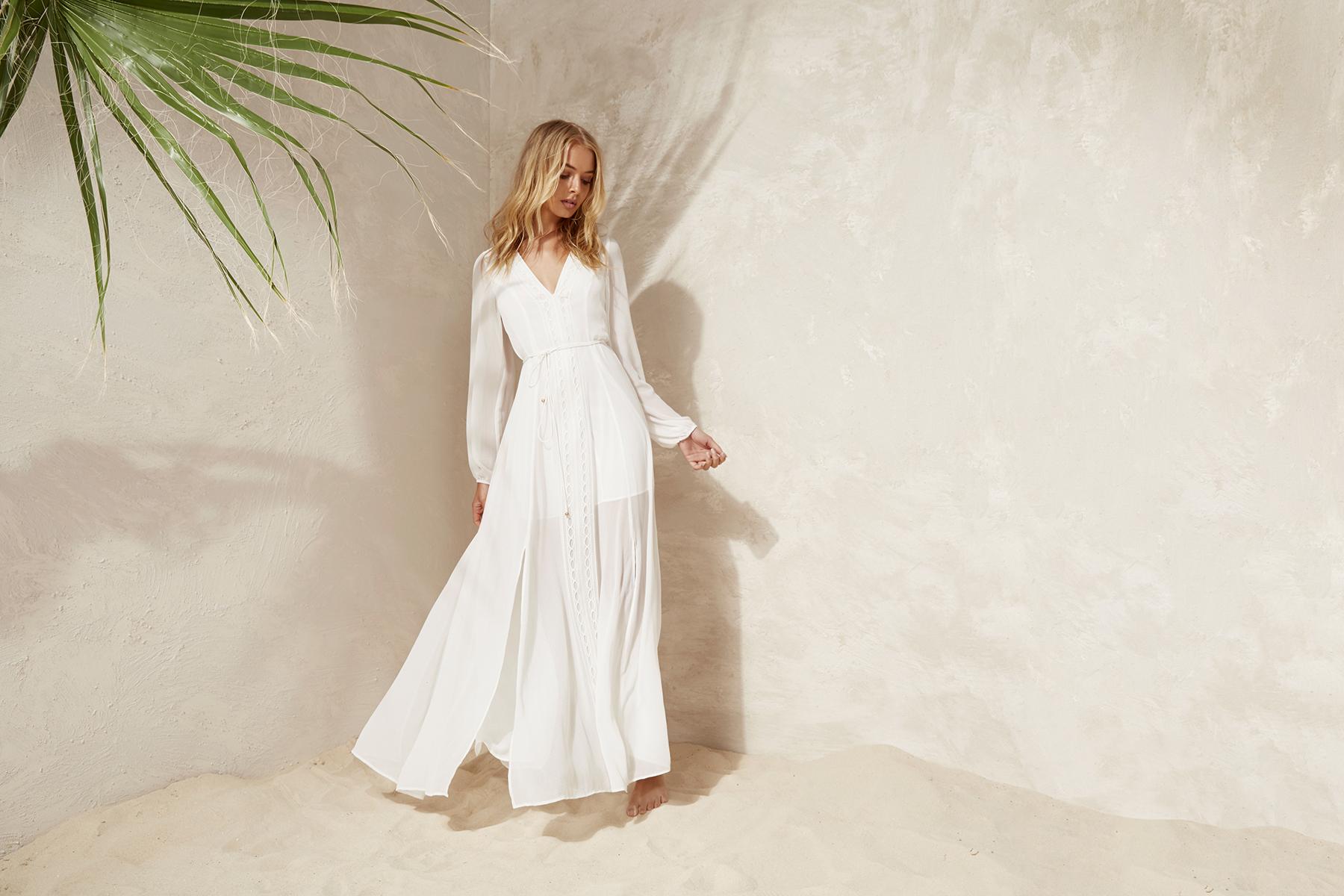 Shop Finders Maison L/S Maxi Dress.
