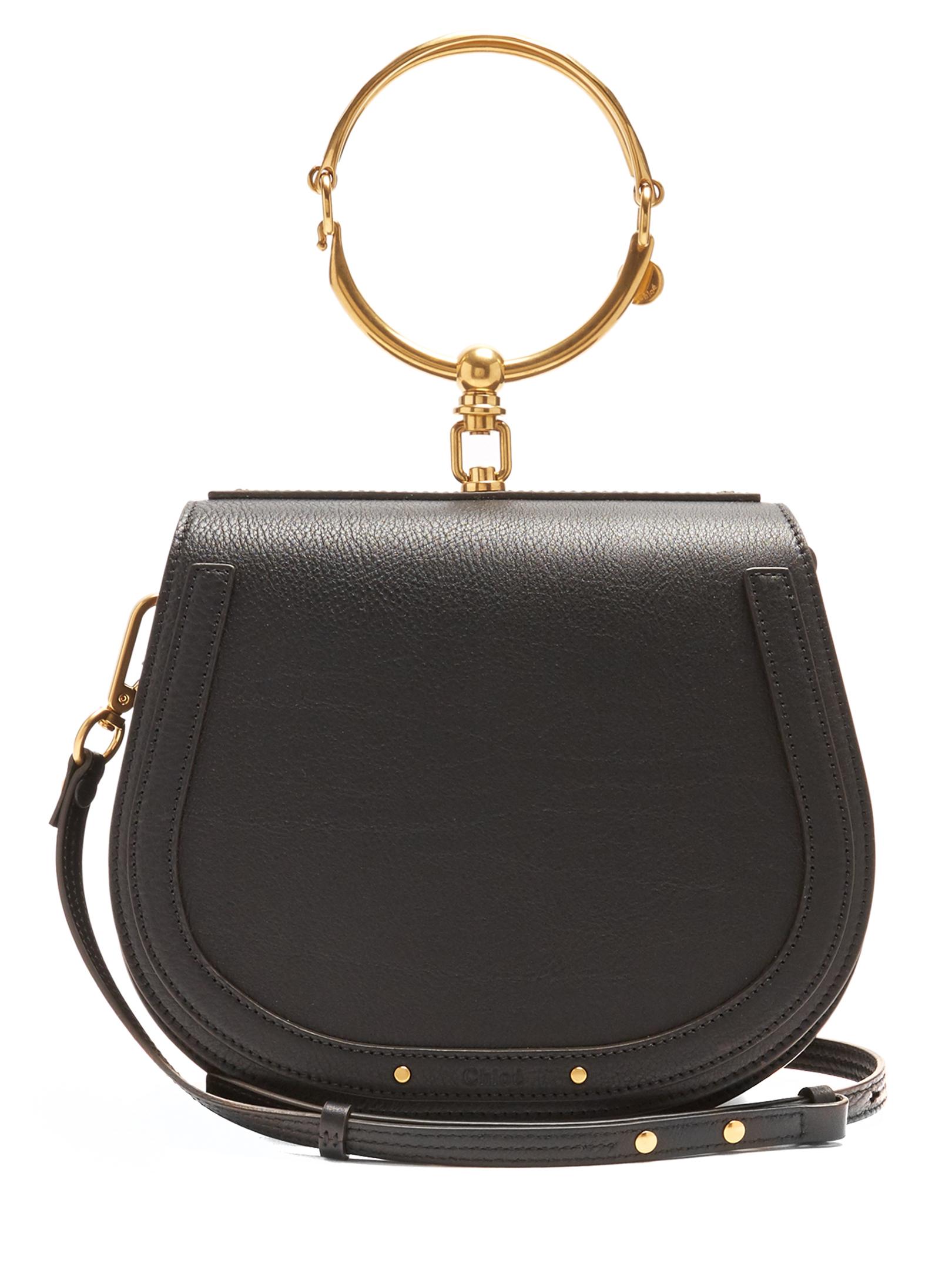 Chloe Nile medium leather cross-body bag