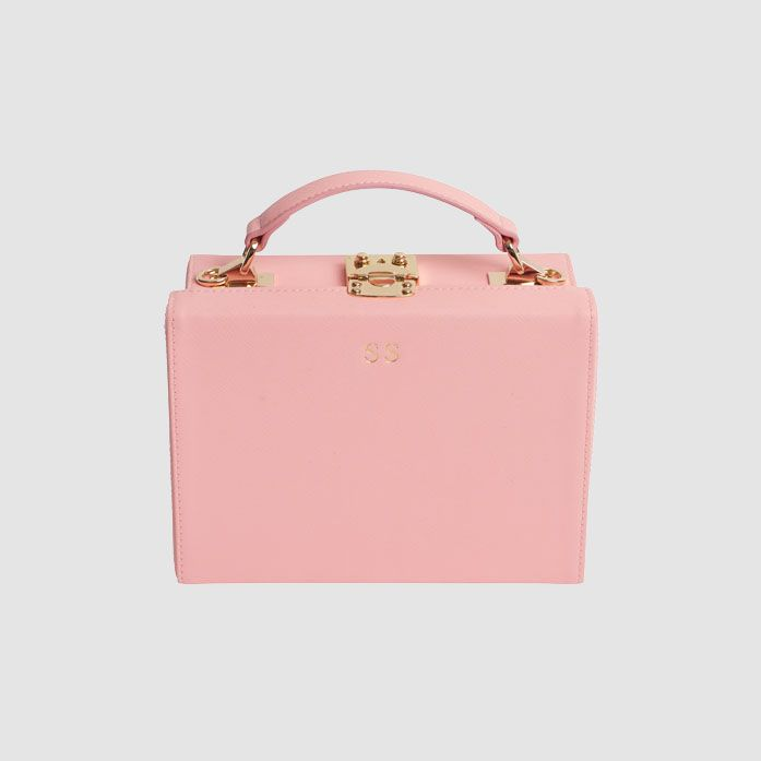 TDE Peony Pink Box Bag