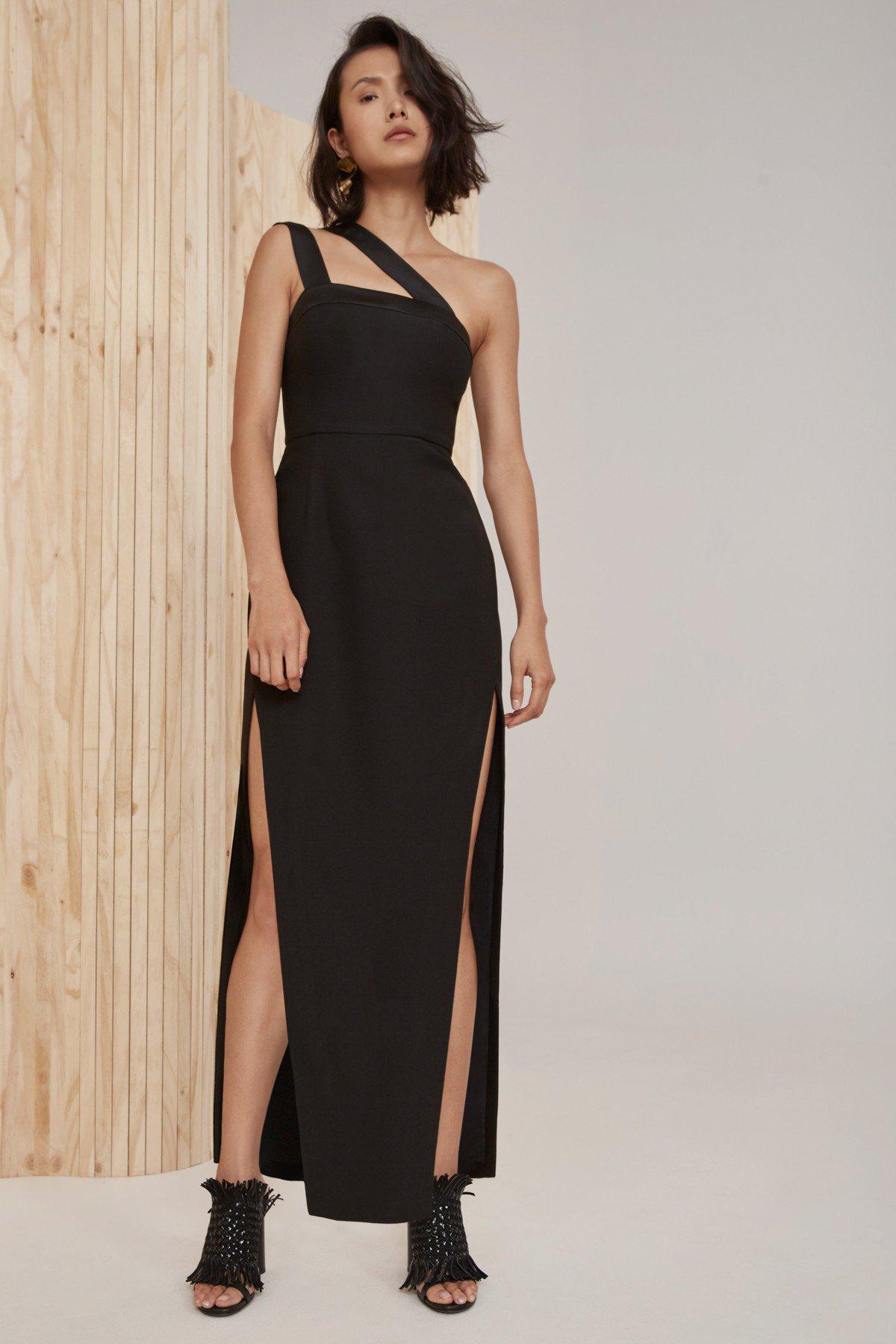 Shop C/MEO Bound Together Full Length Dress.