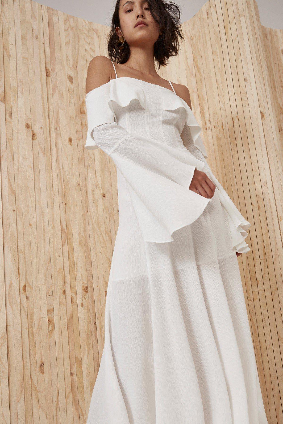Shop C/MEO Compose Full Length Dress.