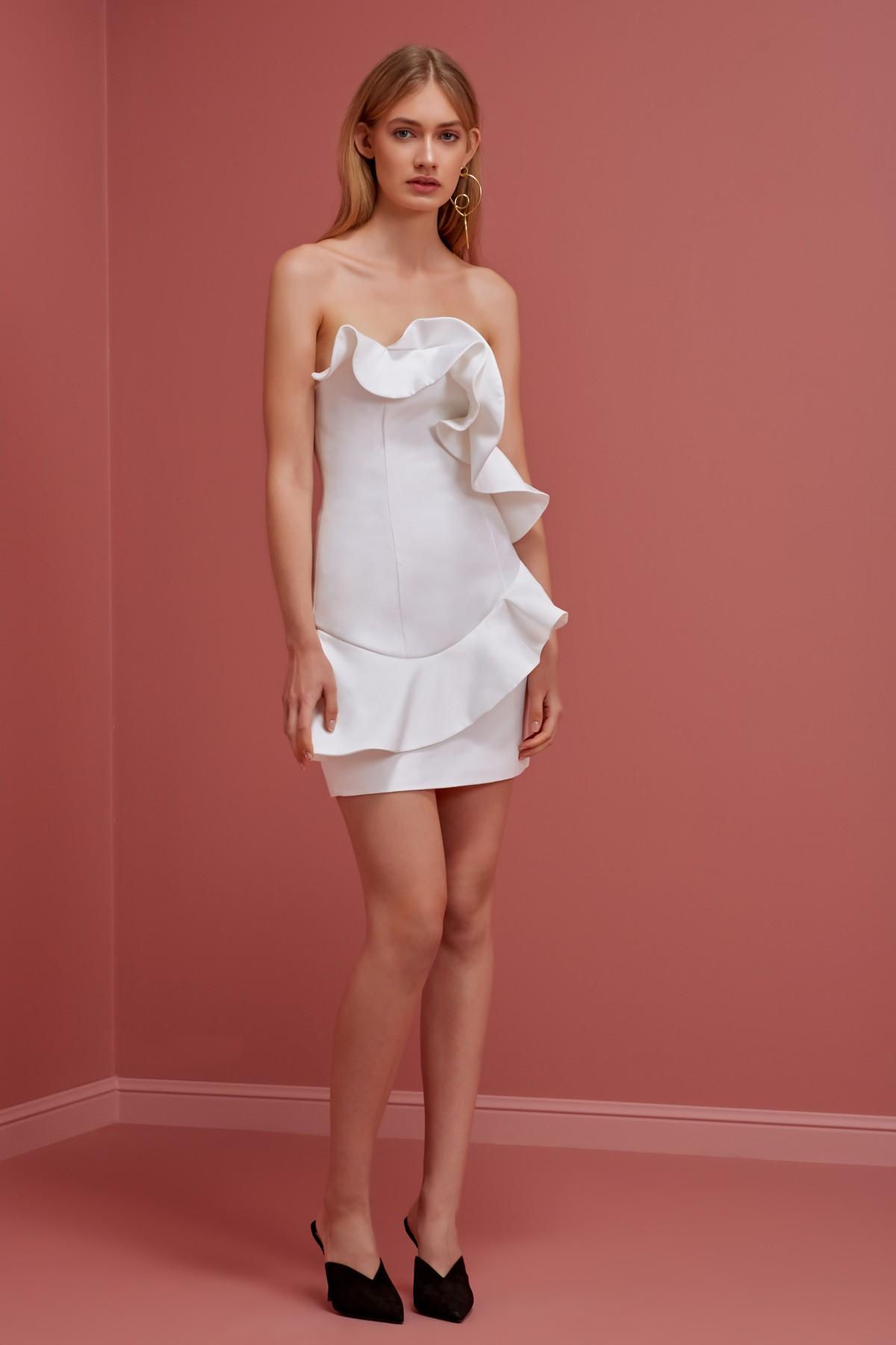 Shop Keepsake Wallflower Mini Dress.