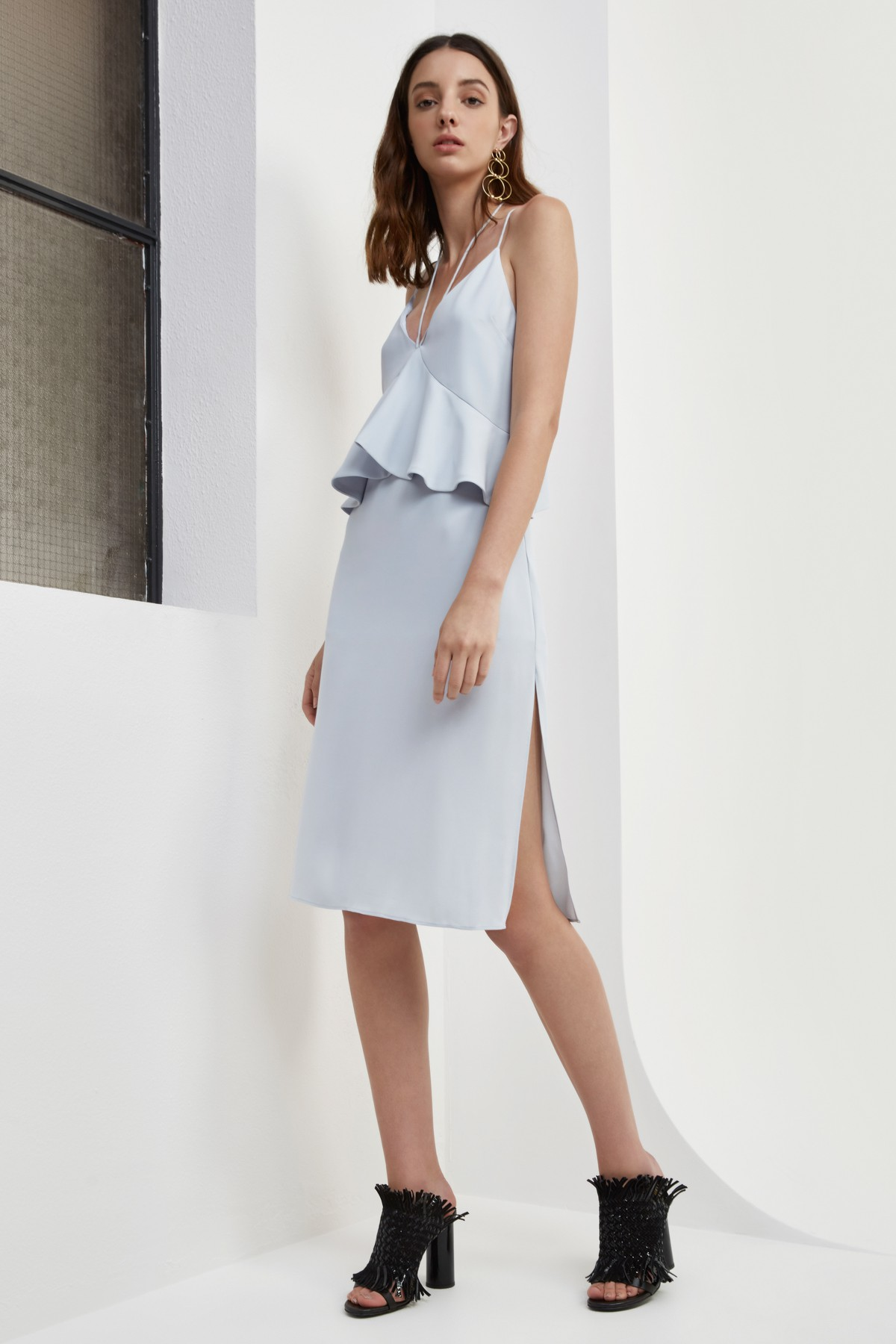 Shop C/MEO Lose Control Midi Dress.