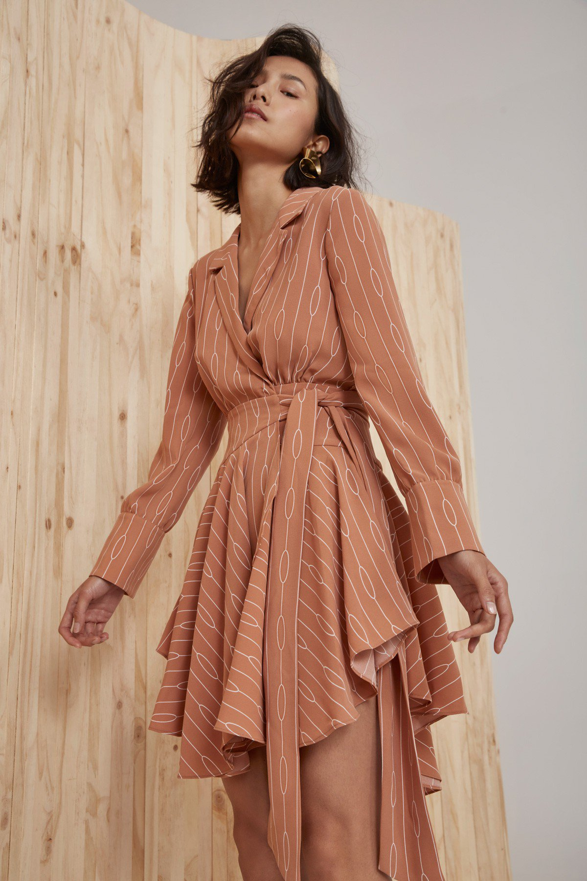 Shop C/MEO Everlasting Long Sleeve Dress.