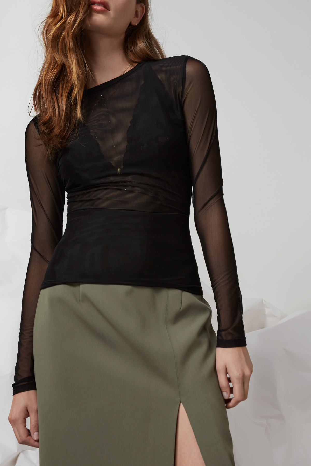 Shop Finders Two Minds Long Sleeve Top.