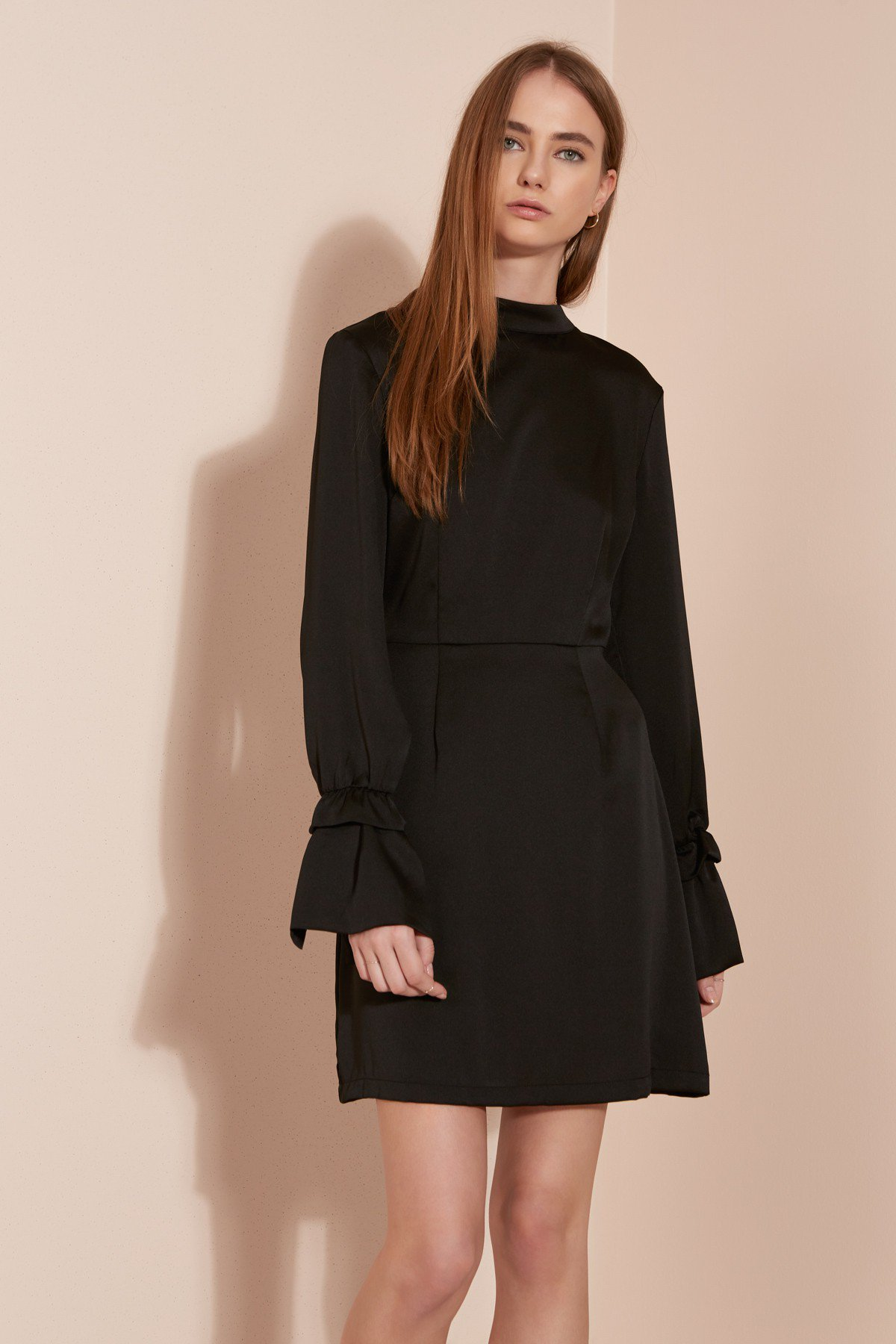 Shop The Fifth Cue The Beat Long Sleeve Dress.