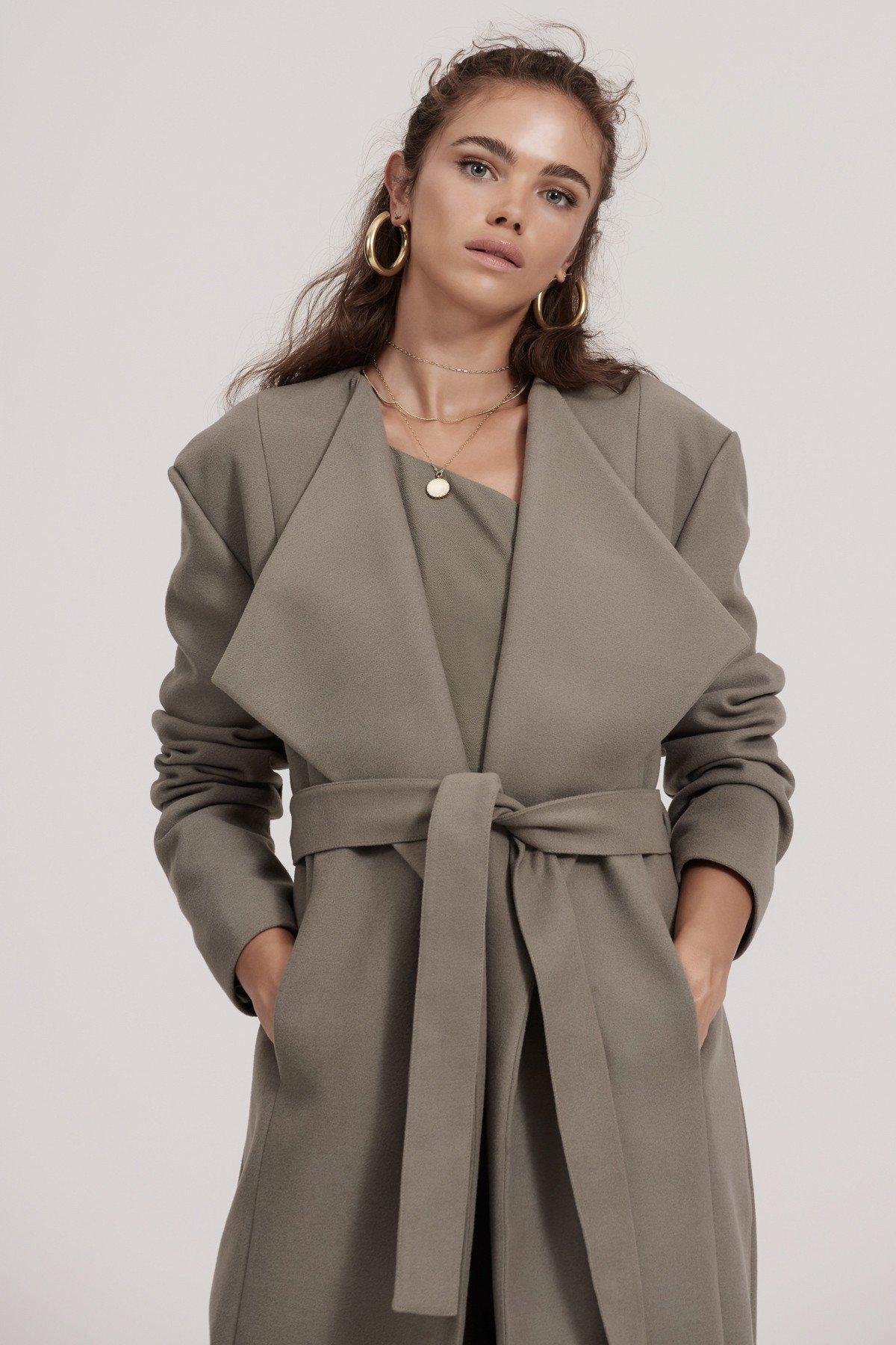 finders khaki coat