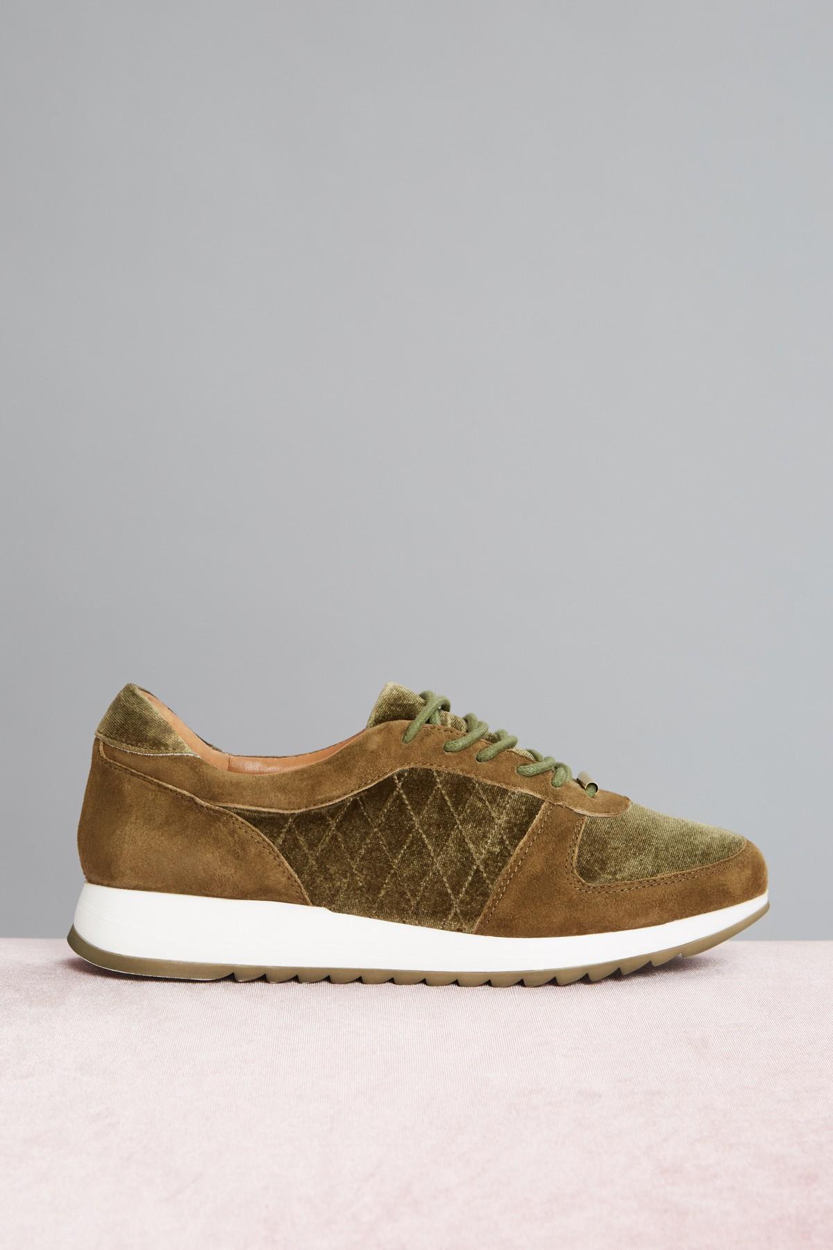 JAGGAR Footwear Quilted Sneaker