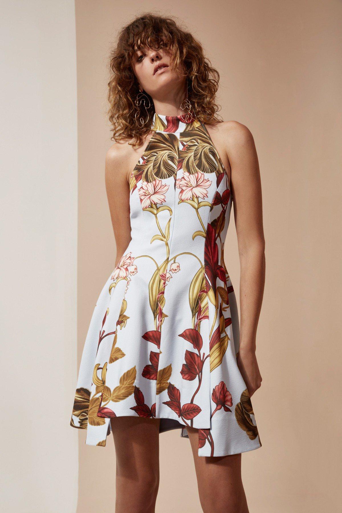 Shop C/MEO Fusion Short Sleeve Dress.