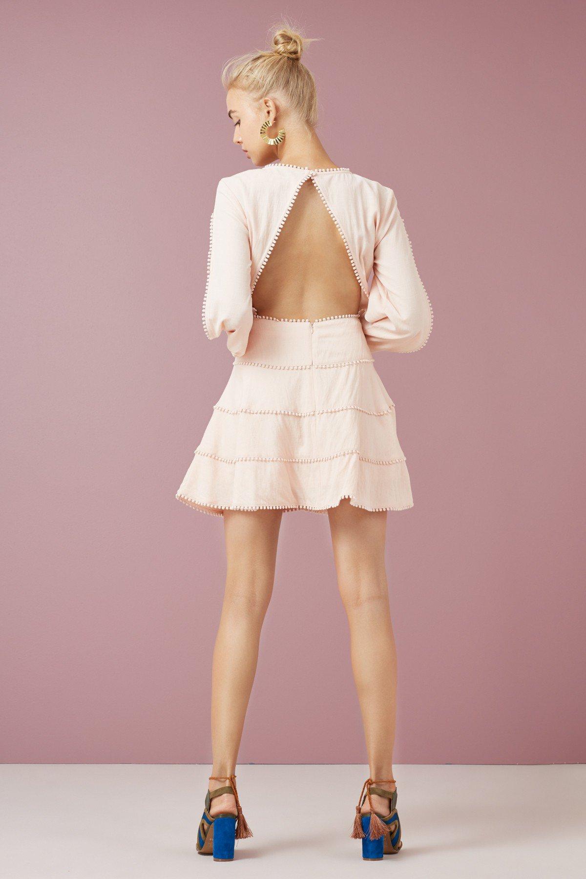 Finders Keepers Salt Lake L/S Mini Dress