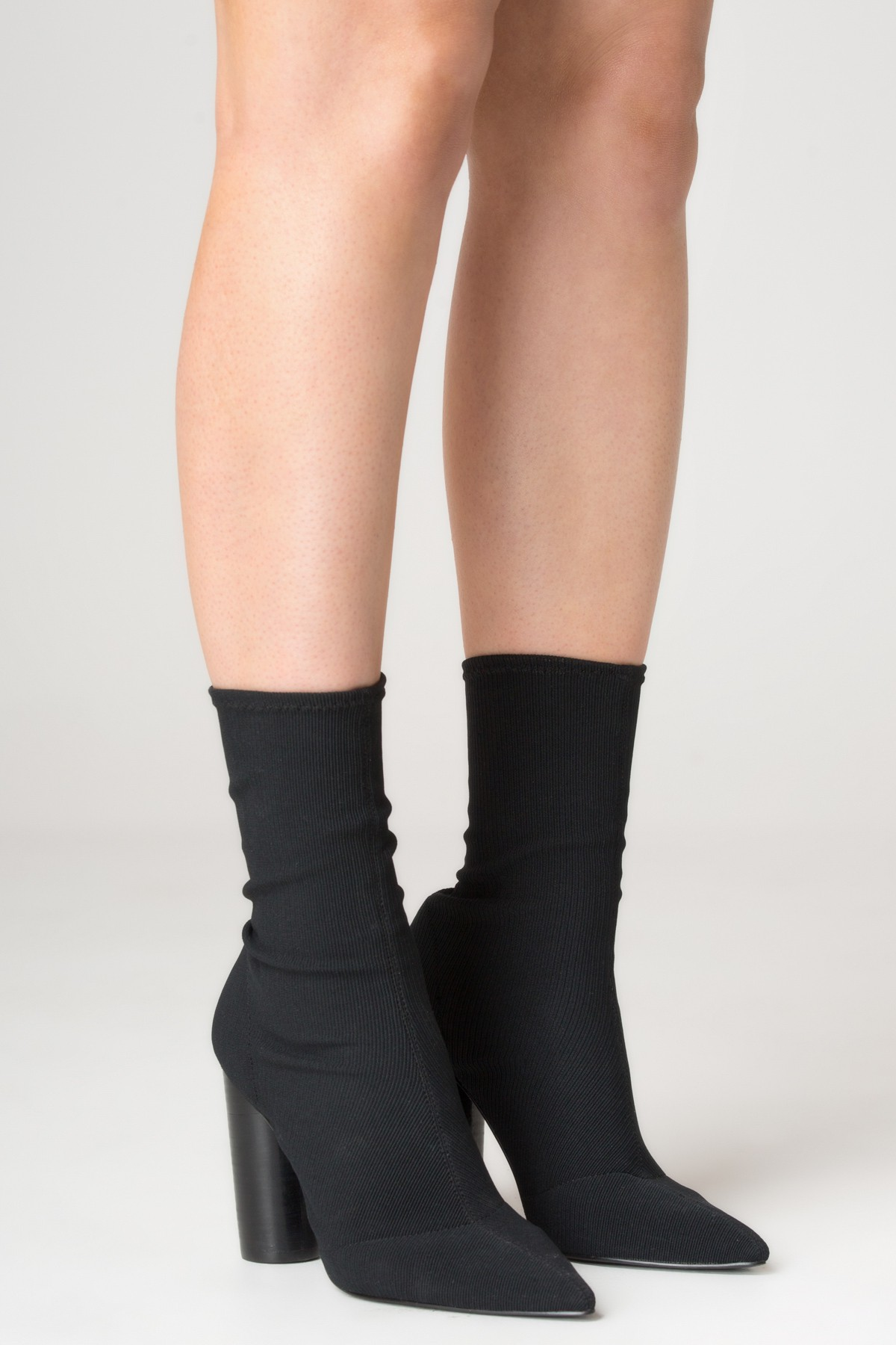 Jaggar Footwear Ribbed Sock Boot