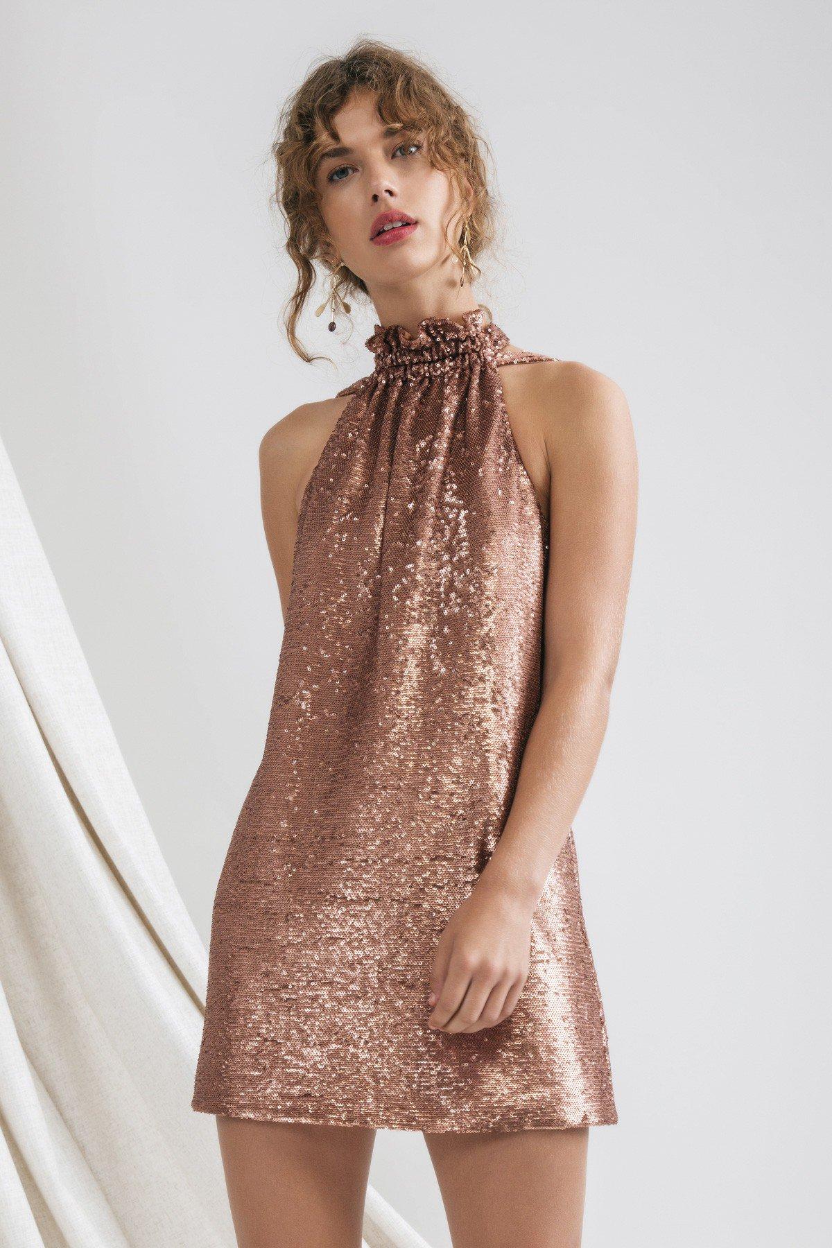 C/MEO Collective Illuminated Mini Dress