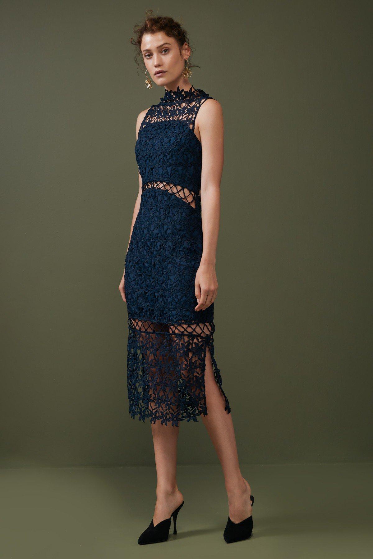 Keepsake Stay Close Lace Dress