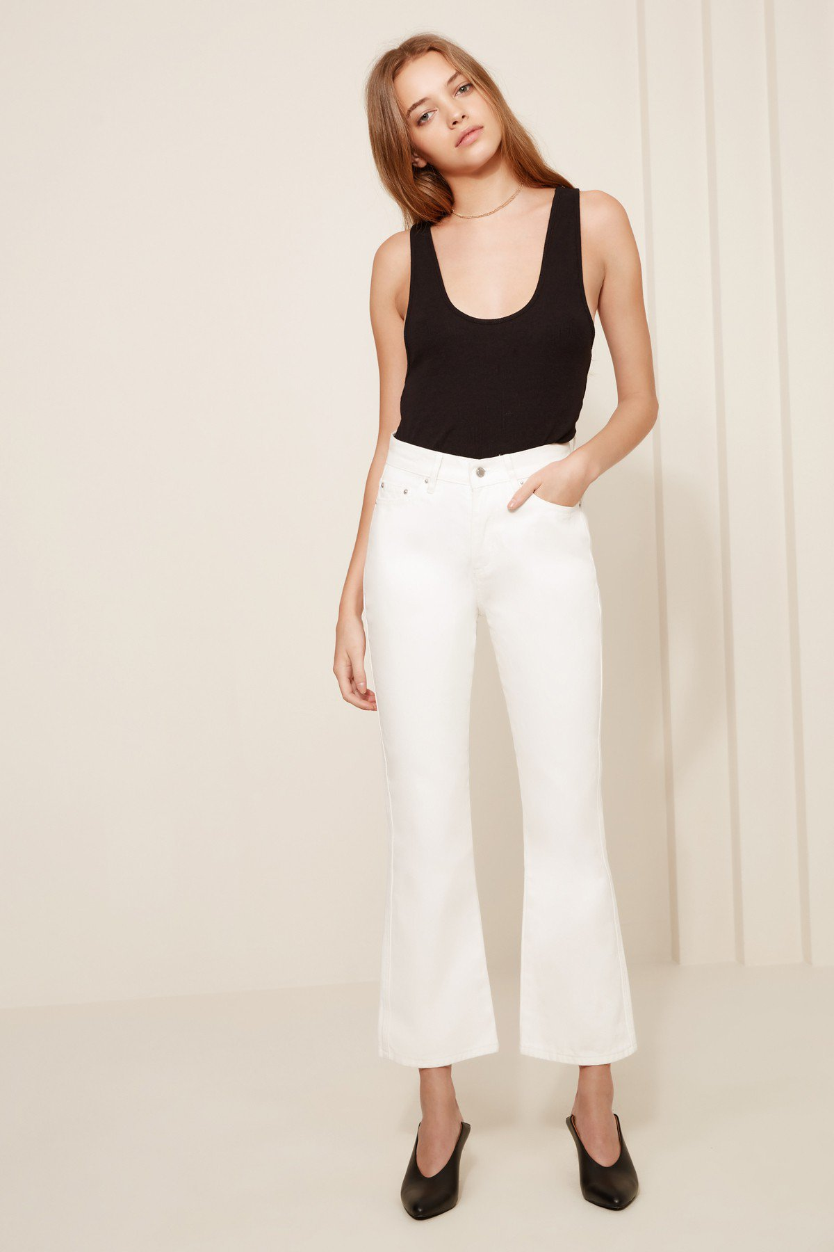 The Fifth Label Farrah Cropped Jean