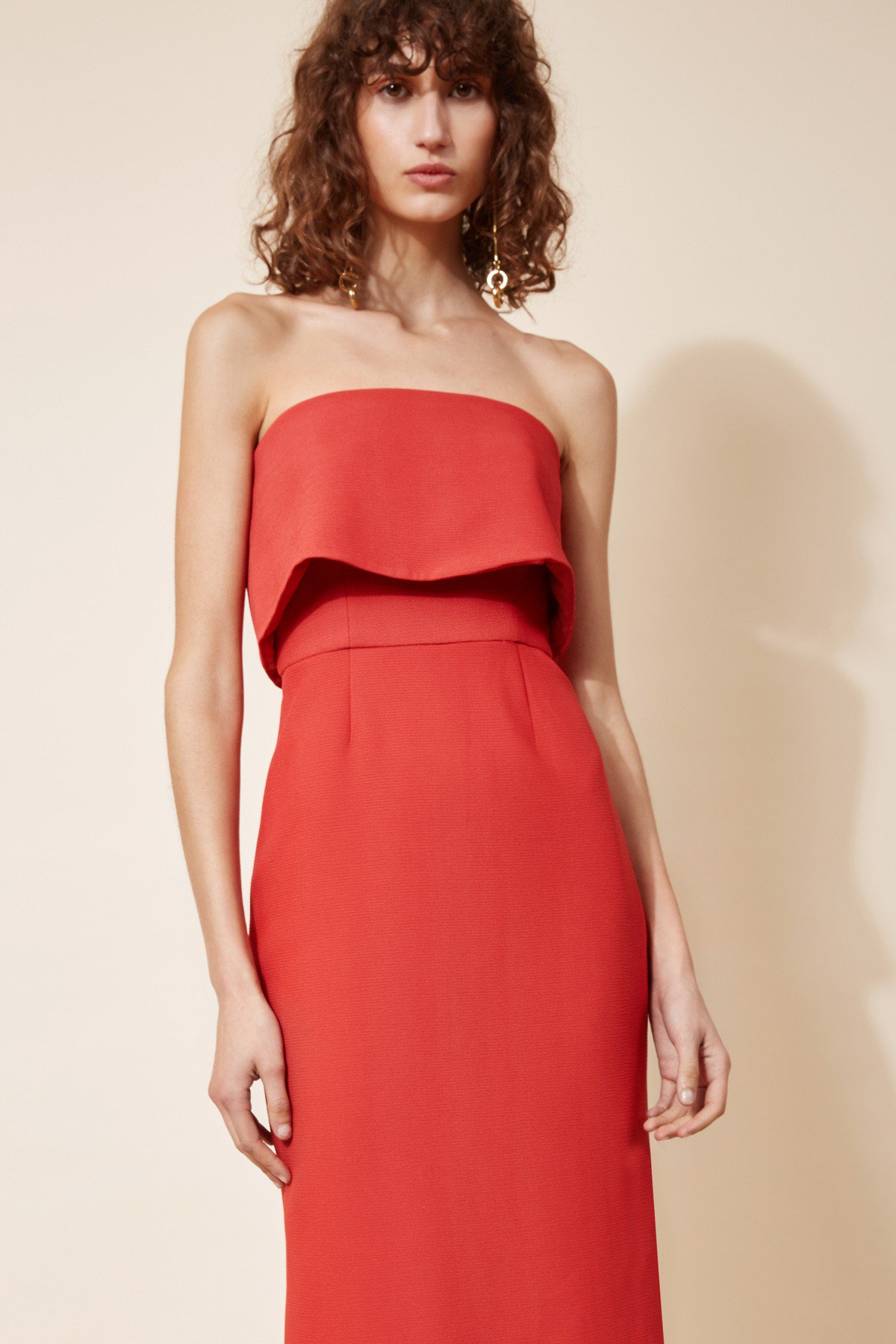 Shop C/MEO Infinite Strapless Dress.