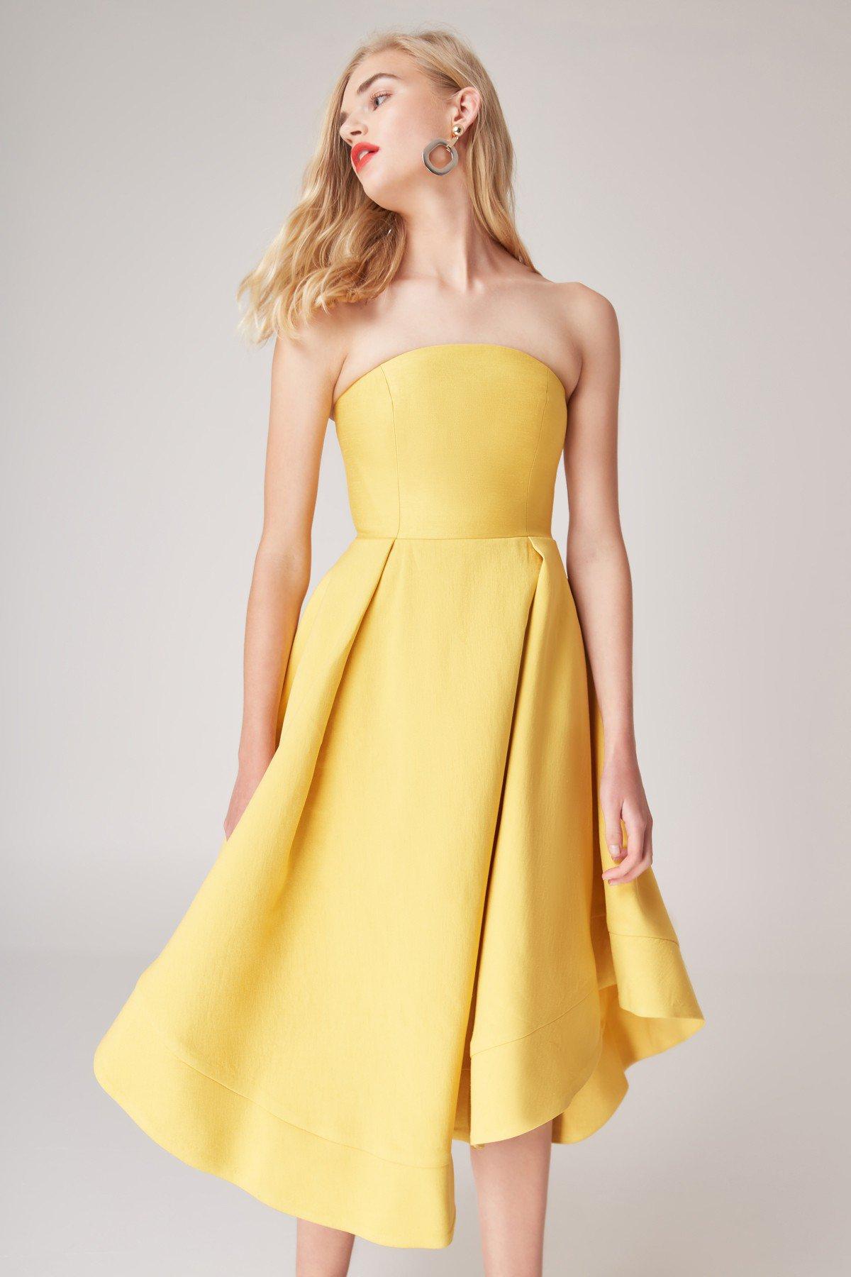 Shop C/MEO Making Waves Dress.