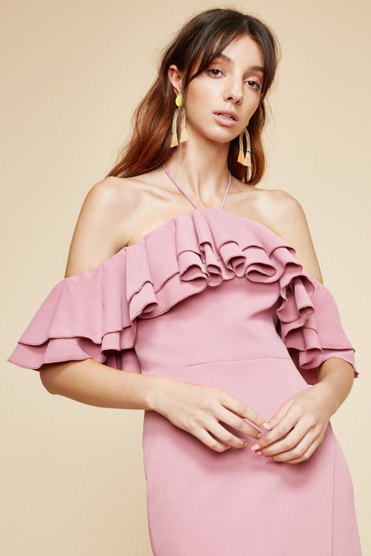 Shop C/MEO Temptation Midi Dress.