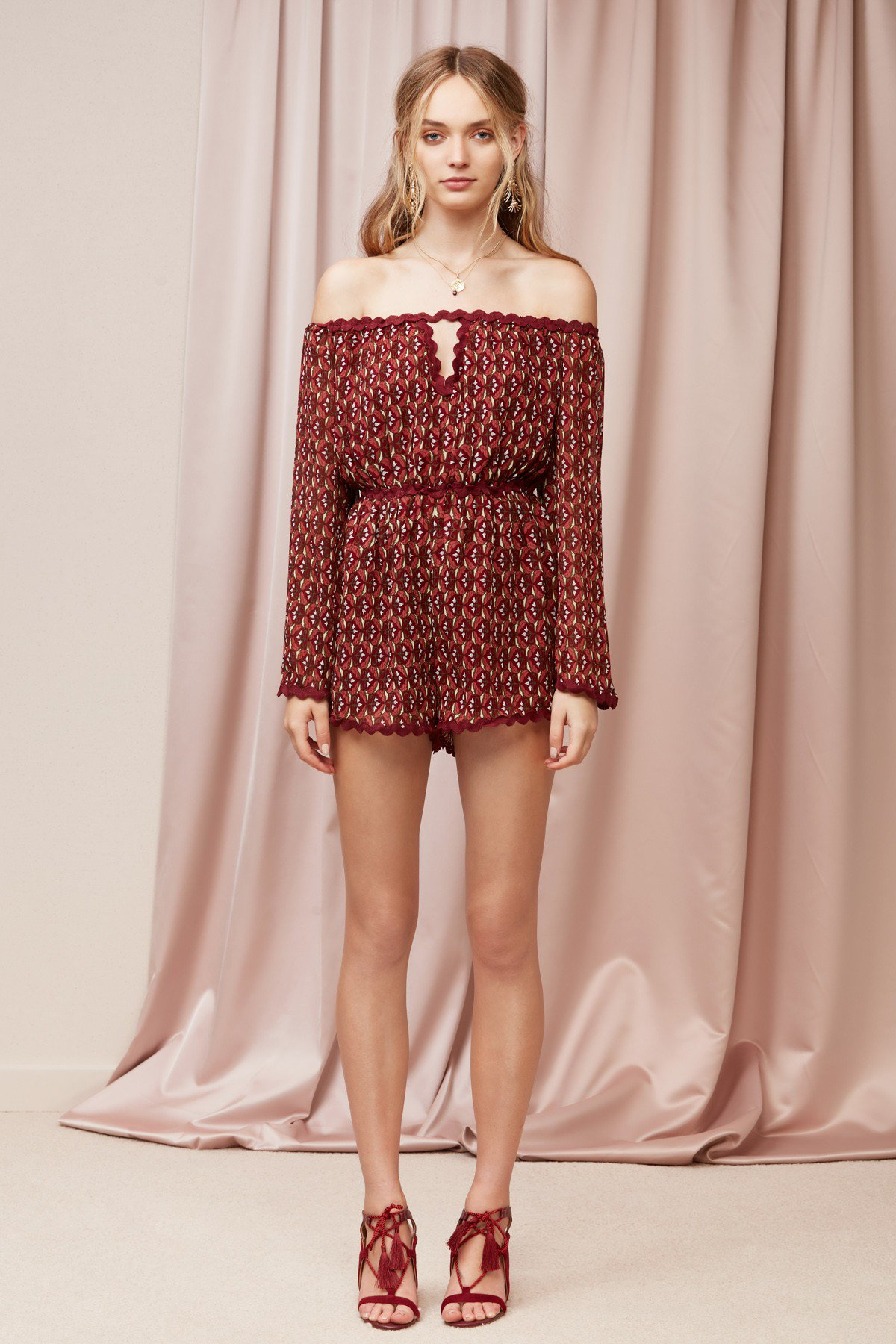 Finders Keepers Drift Playsuit