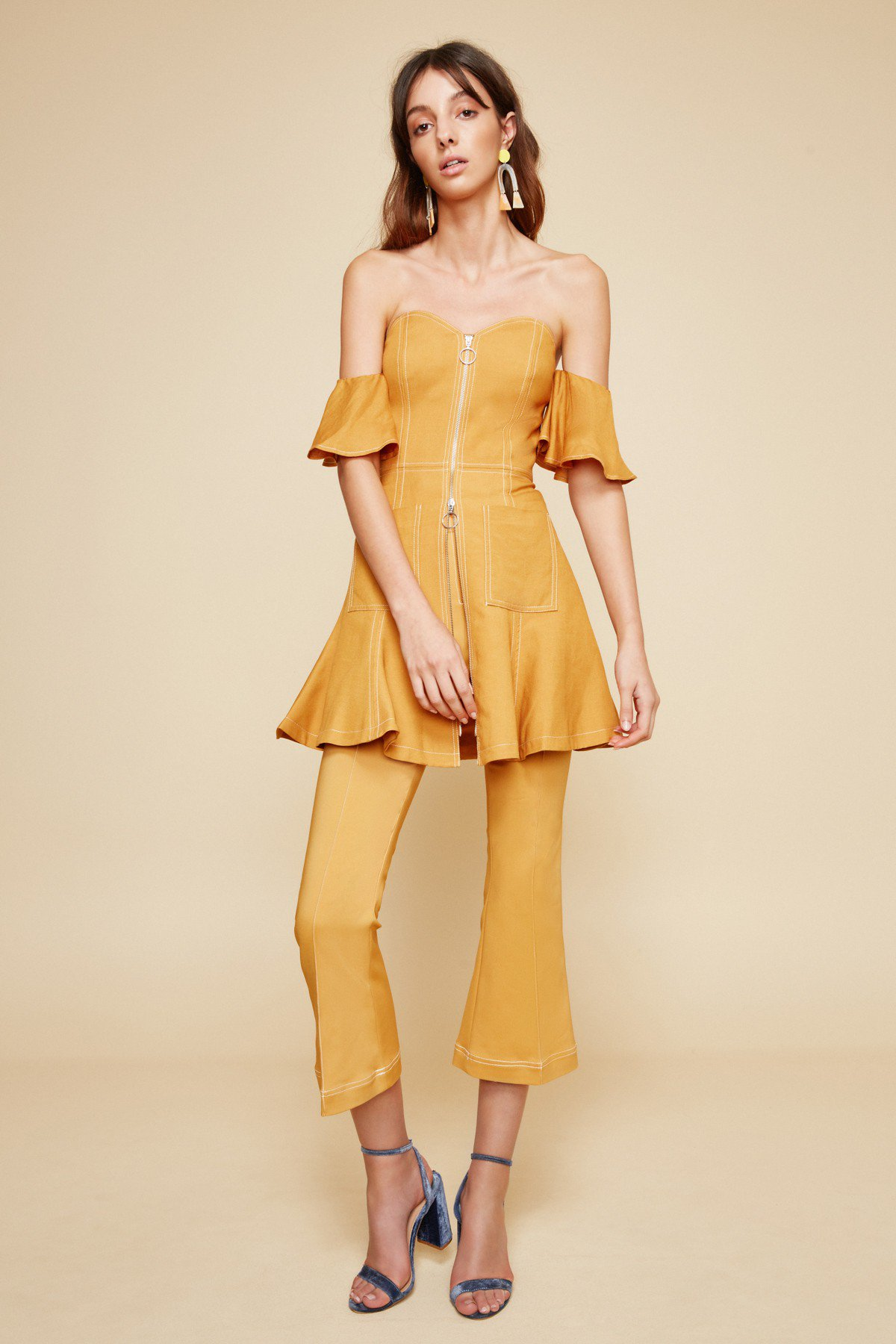 C/MEO Collective Get Right Mini Dress + Pants