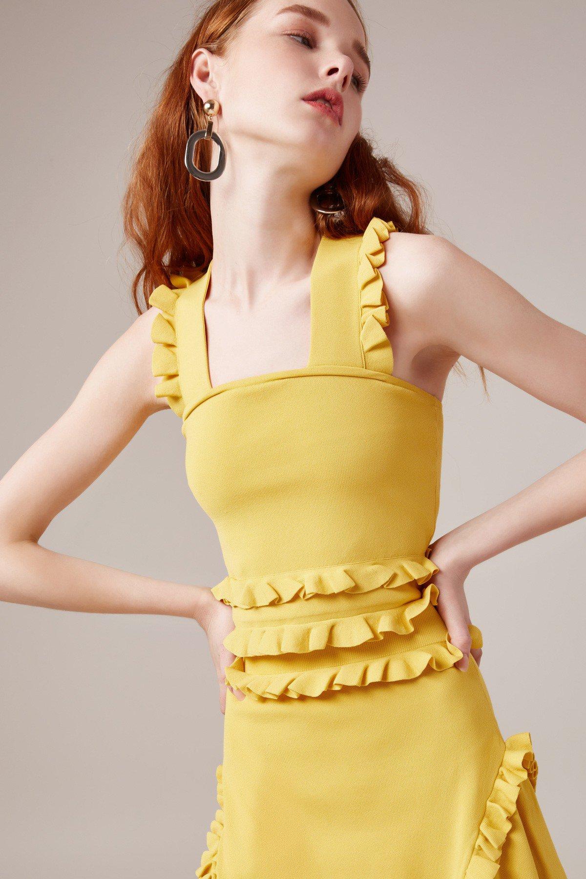 C/MEO Iridescent Knit Top