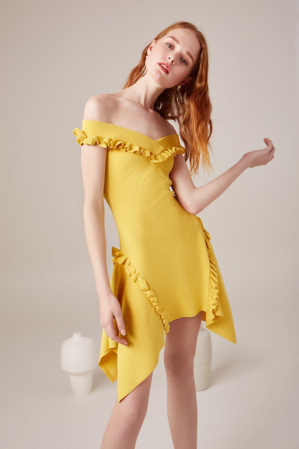 C/MEO Iridescent Knit Dress