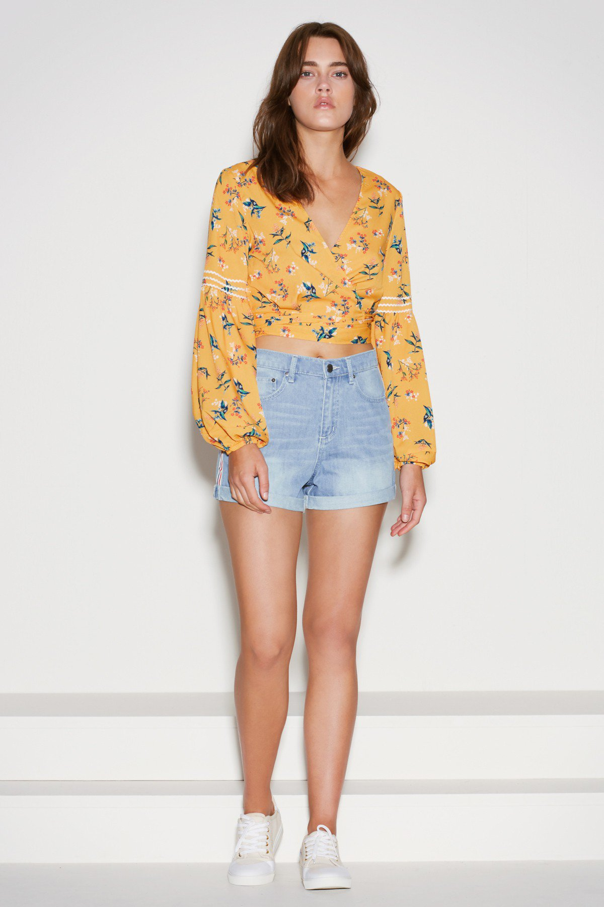 The Fifth Label Skyward Wrap Top