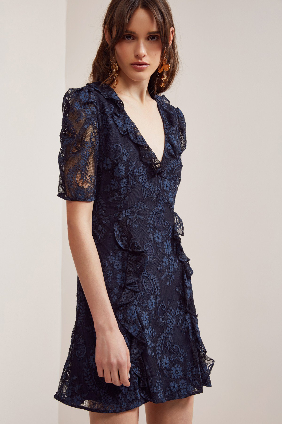 Keepsake The Label Hold On Lace Mini Dress