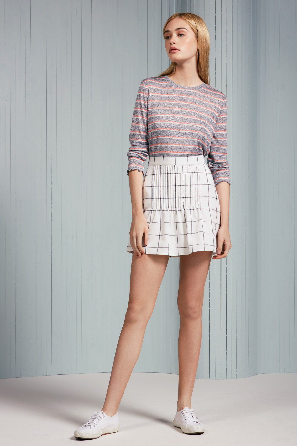 The Fifth Label Atticus Check Skirt