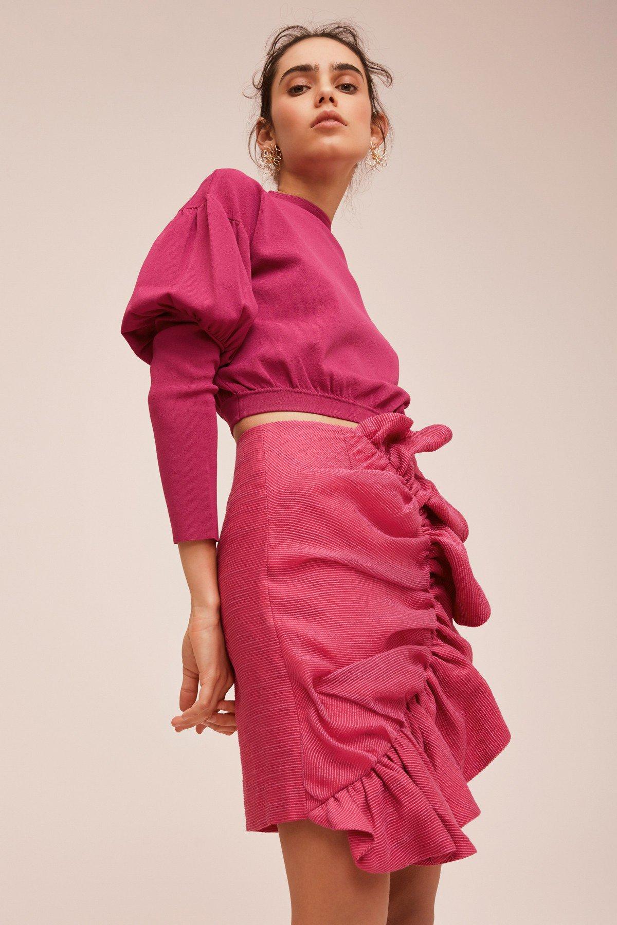 Keepsake Midnight L/S Knit Top + Only Love Skirt