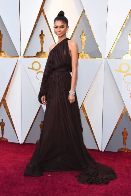 Zendaya in Giambattista Valli Haute Couture.Image: Jordan Strauss.
