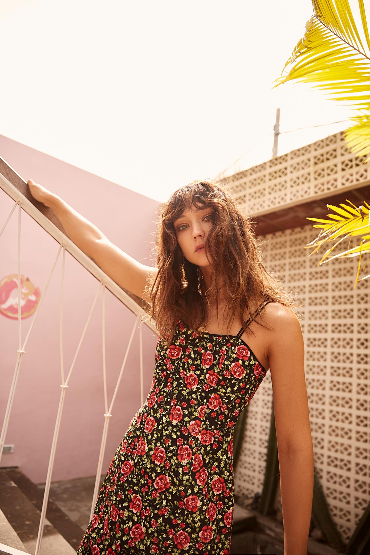 Shop C/MEO Outline Mini Dress.