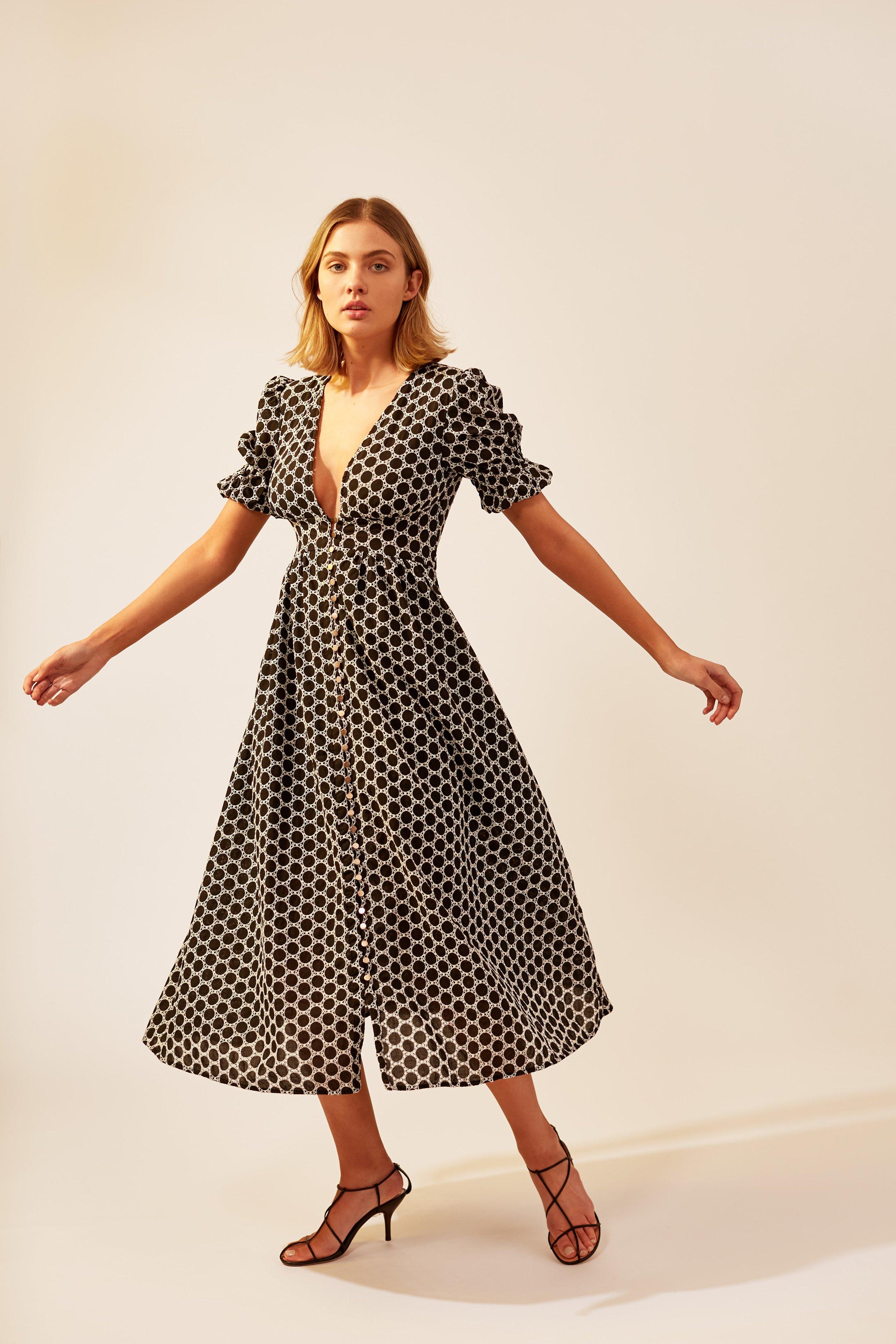 Kerryn wears Keepsake Belong Midi Dress (coming soon).