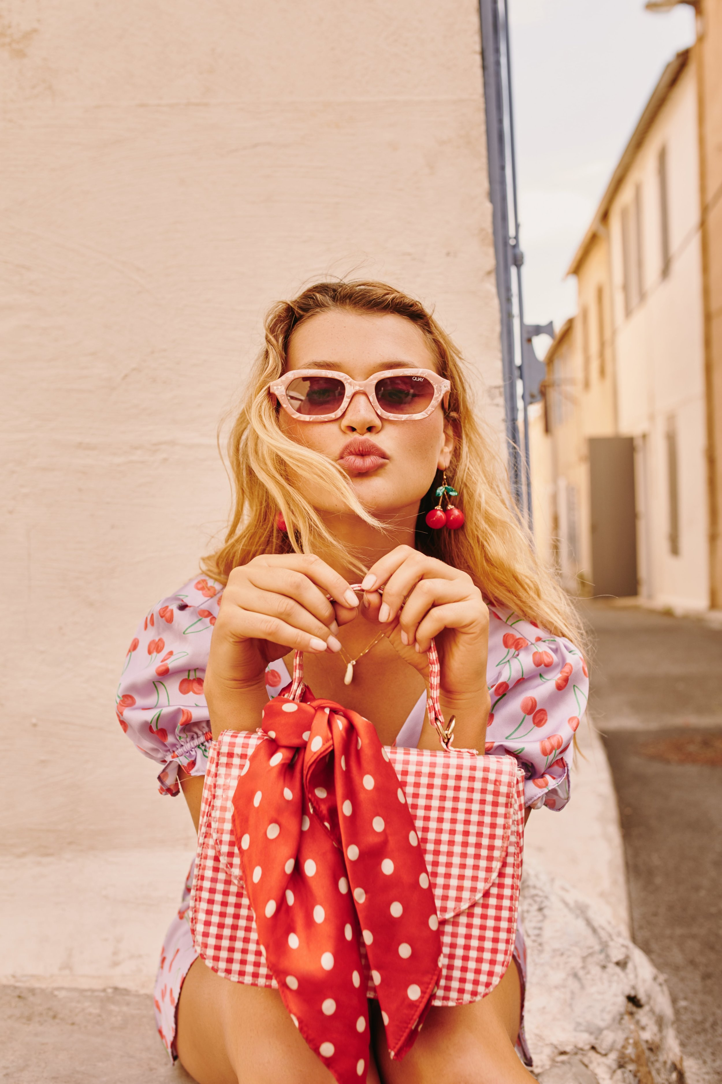 Shop QUAY x Finders Keepers Anything Goes sunglasses.