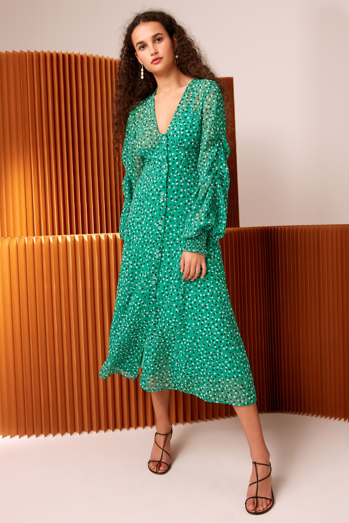 Shop C/MEO Loyalties Midi Dress.