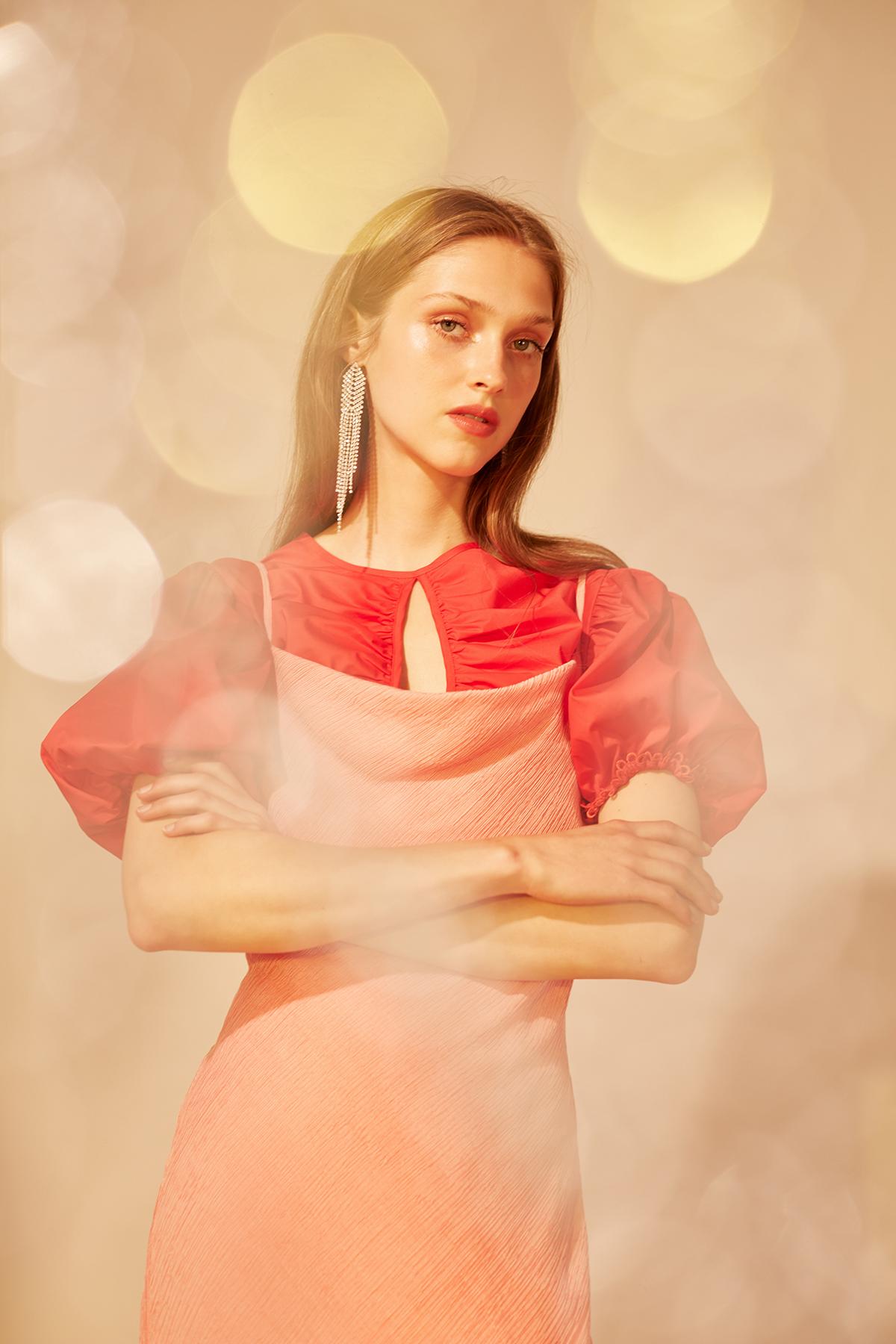 Shop  C/MEO Desirous Top  +  Keepsake Faithful Slip Dress .