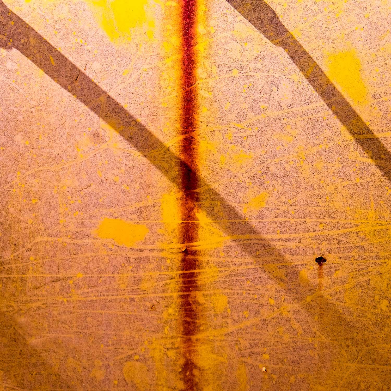 Car door abstract, Lightning Ridge [LR26]