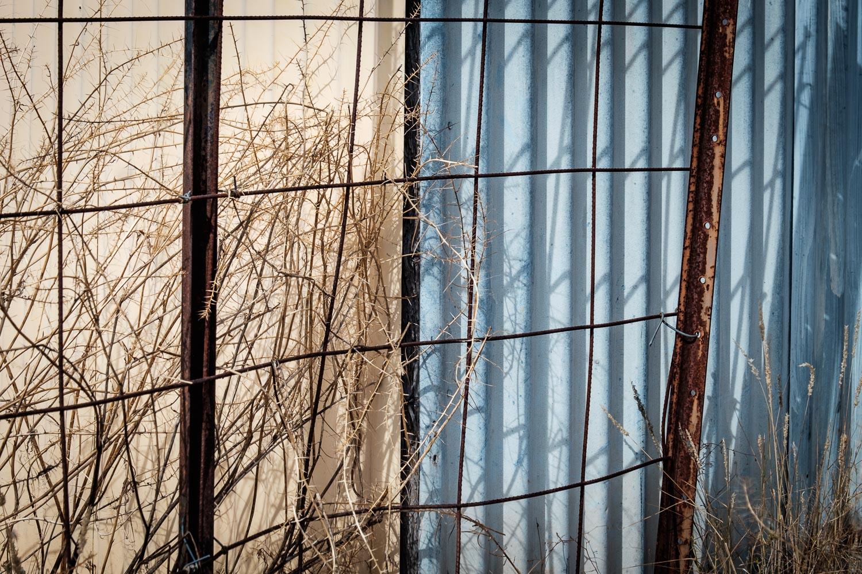 Fence, Lightning Ridge [LR10]