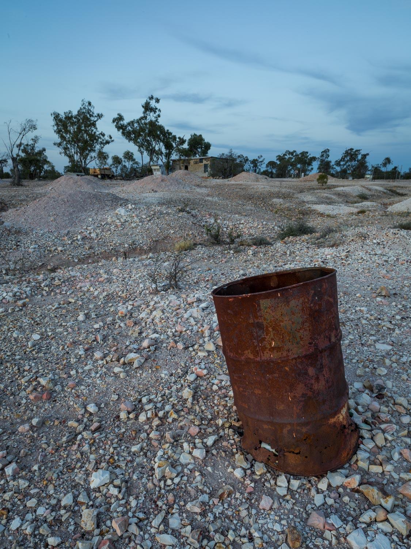 Rusted Drum, Lightning Ridge [LR19]