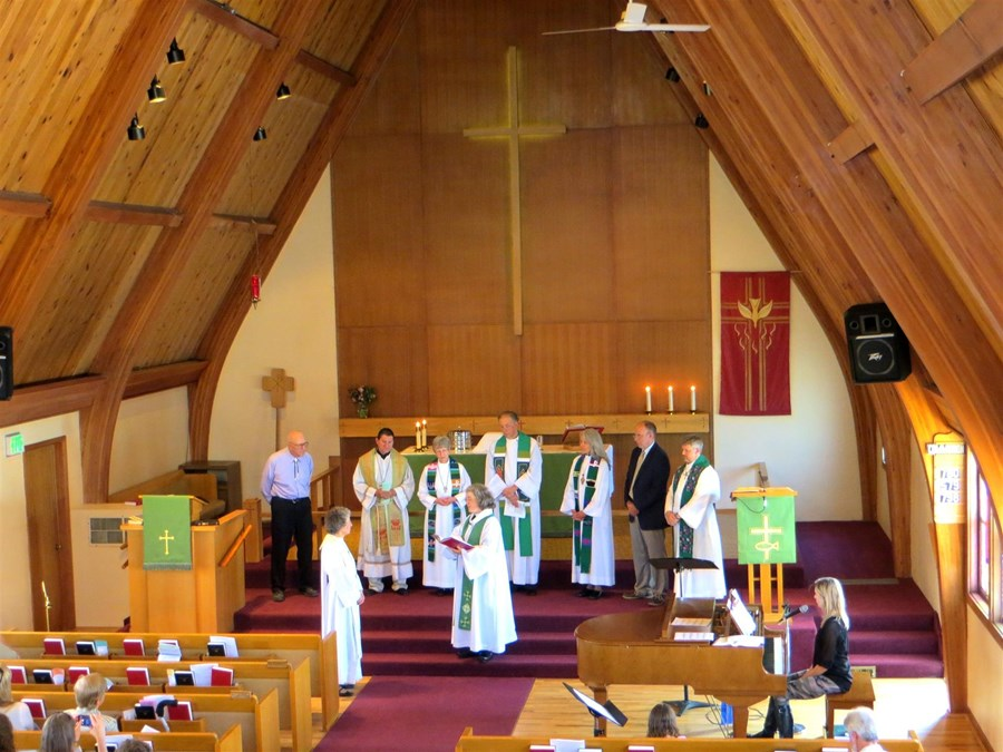 Installation of Pastor Colleen
