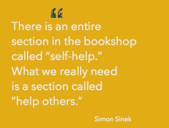 I ❤️ this quote, thank you @simonsinek #charity #teamwork #grassroots #grassrootcharities #refugeeswelcome #refugees #refugeecharity #warinsyria #warchild #refugeecrisis #helpothers #selfhelp