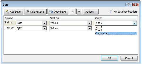 Excel Custom Sort with VBA — Excel Dashboards VBA and more
