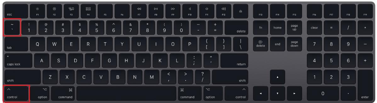 Keyboard shortcut show formulas