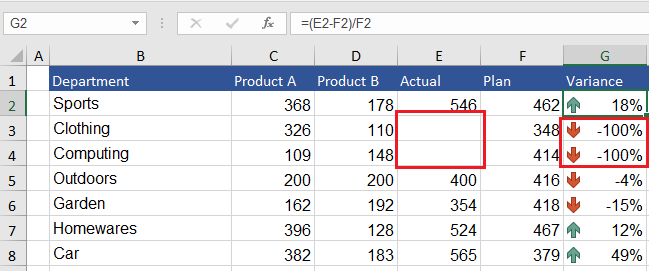 Excel If Statement